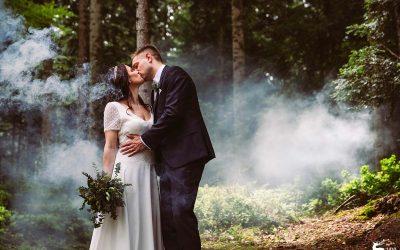 Aylin + Raphael feiern ihre wunderschöne regnerische Hochzeit im Schwarzwald
